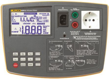 Fluke Advanced PAT 6200 Portable Appliance Tester, Class I, Class II Test Type