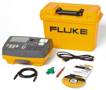 Fluke 6500-2 tester kit German version