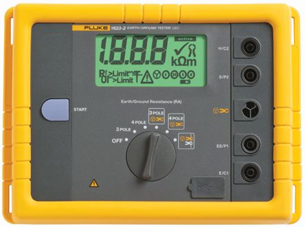 1623 Earth & Ground Resistance Tester 19.99kO CAT II 300 V product photo