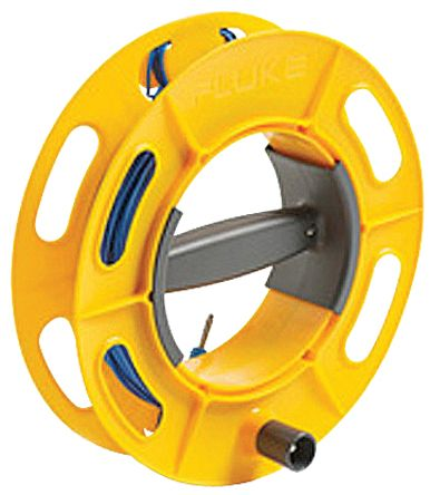Fluke CABLE REEL 25M BL Ground Earth Cable Reel, For Use With 1623 Series, 1625 Series