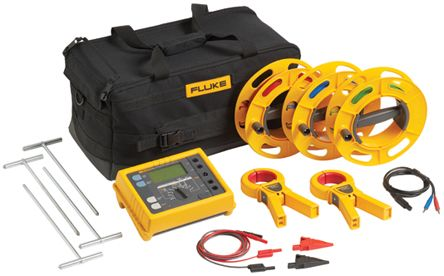 Fluke 1625 Earth & Ground Resistance Tester Kit, For Use With 1625 Series RSCAL