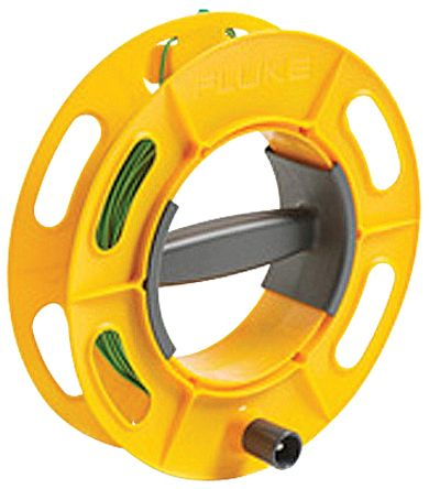 Fluke CABLE REEL 25M GR Ground Earth Cable Reel, For Use With 1623 Series, 1625 Series