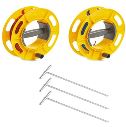 Fluke ES-162P3-2 3-Pole Stake Kit, For Use With 1623 Series, 1625 Series