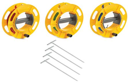 Fluke ES-162P4-2 4-Pole Stake Kit, For Use With 1623 Series, 1625 Series