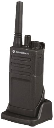 Walkie Talkies Motorola RMP0166BHLAA, 8 canales, 446MHz