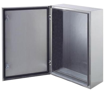 SRX IP66 Wall Box, 304 Stainless Steel, Unpainted, 400 x 300 x 200mm