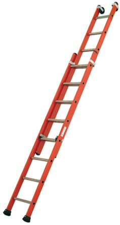 Extension Ladder 20 steps Fibreglass 5.21m open length product photo