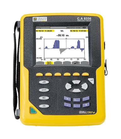 Chauvin Arnoux C.A 8336 Power Quality Analyser