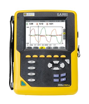 Chauvin Arnoux C.A 8331 Power Quality Analyser