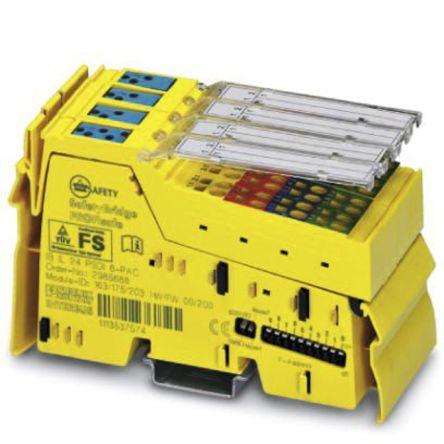 IO Module; SafetyBridge protocol; IP20; 24VDC; Spring Cage Conn; 180mA