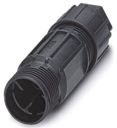 Phoenix Contact QPD C 3PE2.5 1X6-10 BK Series Female Cable Mount Connector, 4 contacts Socket