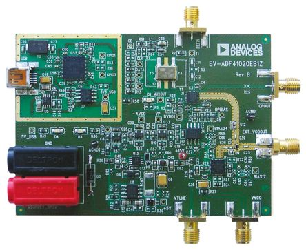 Analog Devices EV-ADF41020EB1Z, PLL Frequency Synthesizer Evaluation Board for ADF41020