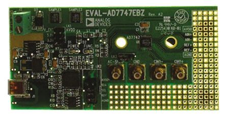 Analog Devices EVAL-AD7747EBZ, Capacitance to Digital Converter Evaluation Board for AD7747