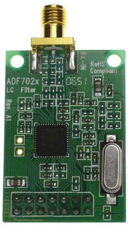 Analog Devices 80 → 650MHz RF Transceiver Daughter Board for ADF7020-1 for use with EVAL-ADF70xxMBZ2