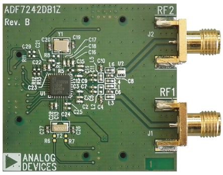 Analog Devices 2.4GHz RF Transceiver Daughter Board for ADF7242 for use with EVAL-ADF7XXXMB3Z