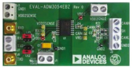 Analog Devices CAN Bus Evaluation Board for ADM3054, EVAL-ADM3054EBZ