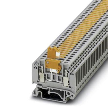 Phoenix Contact, MTK Series , 400 V Disconnect Terminal Block, Screw  Termination