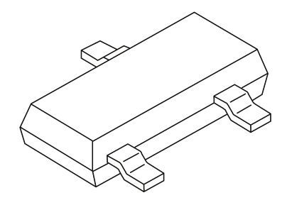 ON Semiconductor SM36T1G, Dual-Element Uni-Directional TVS Diode, 300W, 3-Pin SOT-23