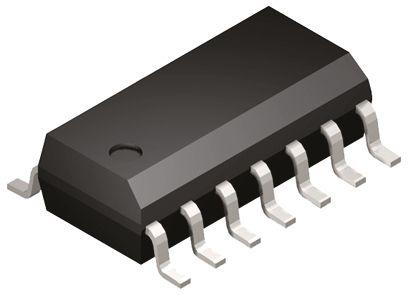 MC74AC14DG, Hex Schmitt Trigger Inverter, 14-Pin SOIC
