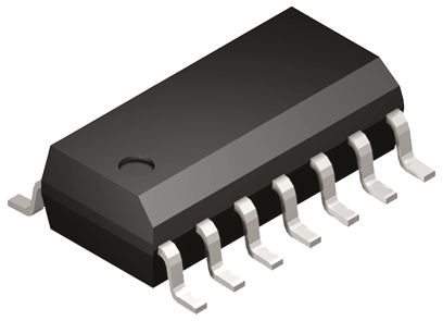 ON Semiconductor MC74ACT125DG, Quad Non-Inverting 3-State Buffer, 14-Pin SOIC