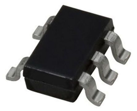 ON Semiconductor MC74VHC1G07DFT1G Non-Inverting Open Drain Buffer, 2 → 5.5 V, 5-Pin SC-88A