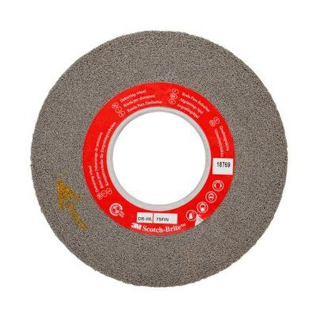 203mm x 25.4mm Fine Silicon Carbide Deburring & Finishing Wheel product photo
