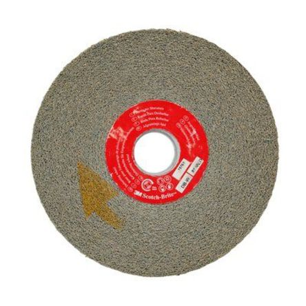 152mm x 25.4mm Fine Silicon Carbide Deburring & Finishing Wheel product photo