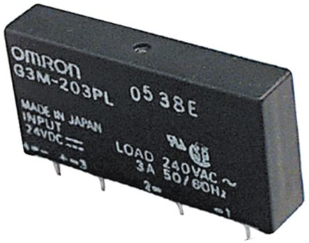 G3MC-101P DC24 Omron | Omron 1 A SPST Solid State Relay ... on