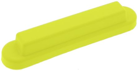 Push Button Boot, for use with Enabling Switch,Yellow