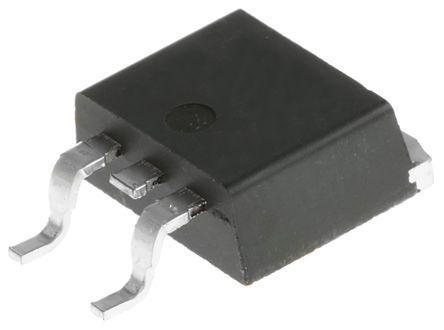 MJB44H11G NPN Transistor, 10 (Continuous) A, 20 (Peak) A, 80 V dc, 3 + Tab-Pin D2PAK