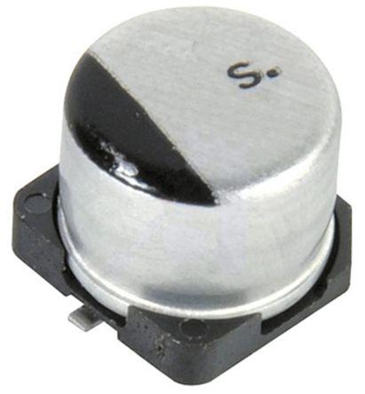 EEE1CA100SR | Panasonic VS, SMD Alu Kondensator, Elko radial 10μF ...