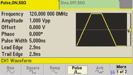 Keysight Bandwidth Upgrade for 33600A Series Waveform Generators