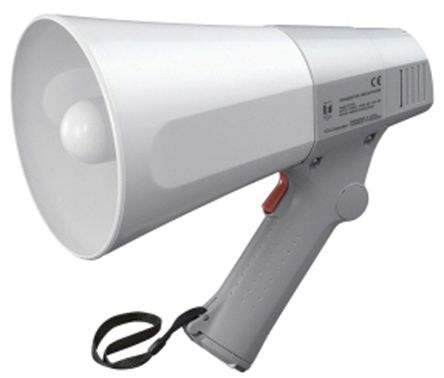Grey Hand Grip Megaphone, ER-520, 6 W product photo