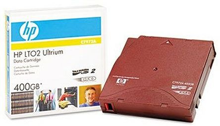 HP LTO Ultrium II Data Tape 200-400GB