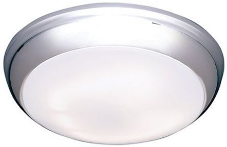 Knightsbridge, Round Ceiling Light Decor Ring High Frequency Bulk Head, IP44