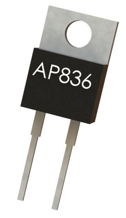 Arcol AP836 Series TO-220 Radial Fixed Resistor 3.9Ω ±5% 35W ±100ppm/°C