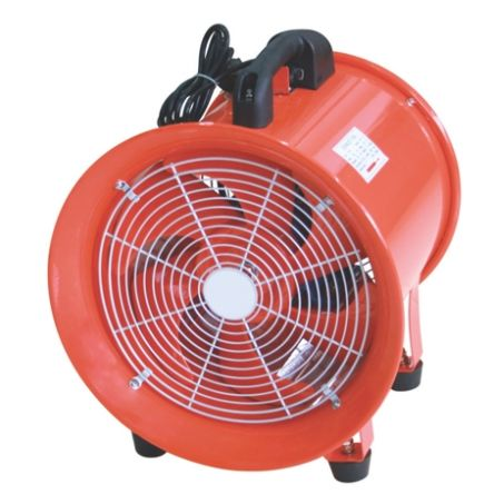 RS PRO Floor, Heavy Duty Fan 3900m³/h 300mm blade diameter 1 speed 220 → 240 V with plug: Type F - Schuko plug