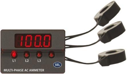 Murata ACM3P-4-AC1-G-C , LED Digital Panel Multi-Function Meter
