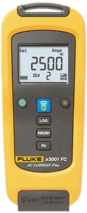 A3001 FC Clamp Meter, Max Current 2.5kA ac CAT III 1000 V, CAT IV 600 V product photo