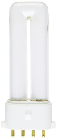 4 Pin, Non Integrated Compact Fluorescent Bulbs, 9 W, 3000K, Warm White product photo