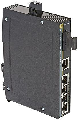 HARTING Ethernet Switch DIN Rail Mount, 10 Mbit/s, 100 Mbit/s, 1000 Mbit/s