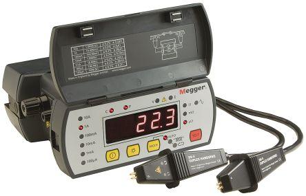 Megger DLRO10 Rechargeable NiMH Ohm Meter, Maximum Resistance Measurement 2000 Ω, Resistance Measurement