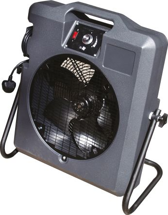 Koolbreeze Floor, Heavy Duty Fan 6000m³/h 230 V ac with plug: Type G - British 3-pin