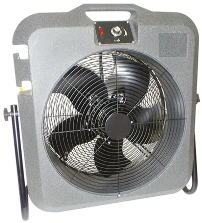 Koolbreeze Floor, Heavy Duty Fan 11000m³/h 230 V ac with plug: Type C - European Plug