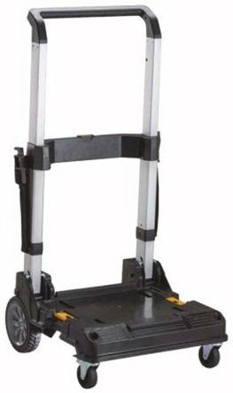 DeWALT Plastic Folding Tool Case Trolley for use with DeWalt TStak Boxes