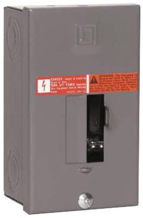 Schneider Electric 1 Phase Distribution Board, 2 Way, 30 A