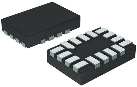 SN74AVC4T774RSVR, Dual, Bus Transceiver, 4-Bit Non-Inverting 3-State, 1.2 -> 3.6 V, 16-Pin UQFN product photo