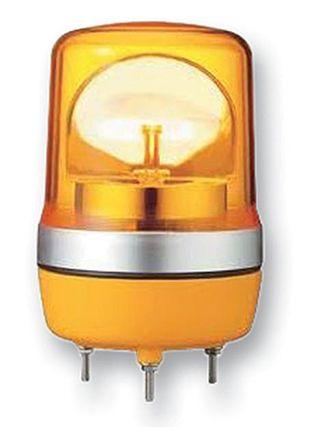 LED, Rotating Beacon XVR Series, Orange, Base Mount, 12 V ac/dc product photo