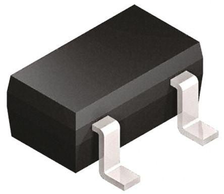 Vishay 30V 200mA, Dual Schottky Diode, 3-Pin SOT-23 BAT54A-E3-08