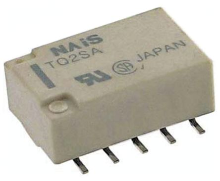 DPDT Surface Mount, High Frequency Relay 12V dc